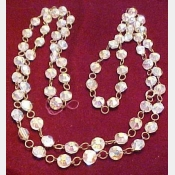 48 Inch Strand of Vintage A.B. Beads